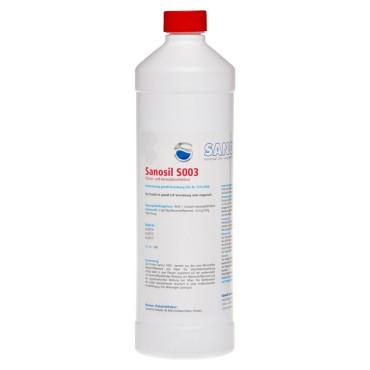 Sanosil S003, 2 x 1 Liter Fl. m. Spraykopf + 1 Tuchrolle