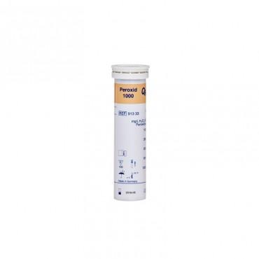 Sanosil Teststreifen (0-1.000 mg/l H2O2), Dose mit 100 Stück