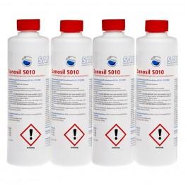 Sanosil S010, 4x 500 ml Sprayflasche