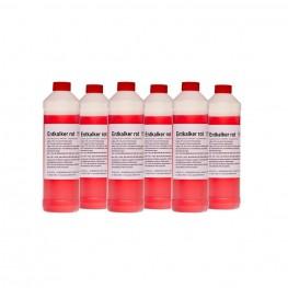 Sanosil-Clean Entkalker rot, 6 x 0.75 l Flasche